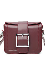 Women Bags All Seasons PU Shoulder Bag for Event/Party Casual Black Wine