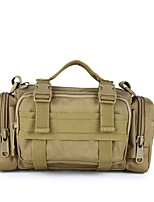 Men Bags All Seasons Nylon Shoulder Bag Ruffles for Casual Outdoor White Black Military Green Army Green Khaki