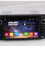 2 din kapacitive touch lcd bil dvd afspiller android 6.0 til toyota general