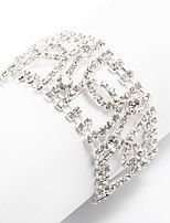 Women's Chain Bracelet Rhinestone Fashion Rhinestone Alloy Jewelry For Party Daily