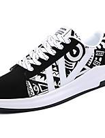 Da uomo Scarpe Gomma Primavera Autunno Comoda Sneakers Lacci Per Bianco Nero Bianco/nero Arancione e nero