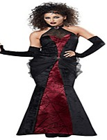 Wizard/Witch Queen Cosplay Costumes Adults' Halloween Festival/Holiday Halloween Costumes Fashion Vintage
