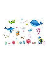 Animali Botanica Moda Adesivi murali Adesivi aereo da parete Adesivi decorativi da parete Materiale Decorazioni per la casa Sticker murale