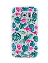 For Case Cover Ultra-thin Pattern Back Cover Case Flower Tree Soft TPU for Samsung Galaxy S8 Plus S8 S7 edge S7 S6 edge plus S6 edge S6