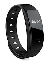 qs80 monitor di frequenza cardiaca smart band monitor di pressione sanguigna braccialetto intelligente wristband tracker ip67 per iOS