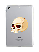 billige -Til iPad (2017) Etuier Transparent Mønster Bagcover Etui Transparent Halloween Dødningehoveder Blødt TPU for Apple iPad (2017) iPad Pro
