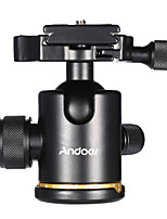 Andoer Aluminum Alloy Ball Head Ballhead Maximum Load 3KG with Quick Release Plate 1/4 Screw for Camera Tripod Slideway