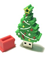 4GB Christmas USB Flash Drive Cartoon Creative Christmas Tree Christmas Gift USB 2.0