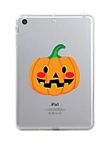 Недорогие -Назначение iPad (2017) Чехлы панели Прозрачный С узором Задняя крышка Кейс для Прозрачный Halloween Мягкий Термопластик для Apple iPad