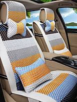 Cartoon Rainbow Leather Silk Material Car Seat Cushion Seat Cover Seat four Seasons General All Around-2#