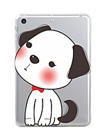 Pour iPad (2017) Etuis coque Transparente Motif Coque Arrière Coque Transparente Animal Bande dessinée Flexible PUT pour Apple iPad