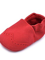 Baby Flats Comfort First Walkers Crib Shoes Spring Fall Suede Wedding Casual Outdoor Party & Evening Dress Gore Flat Heel Light Blue