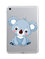 cheap -For iPad (2017) Case Cover Transparent Pattern Back Cover Case Transparent Animal Cartoon Soft TPU for Apple iPad (2017) iPad Pro 12.9''