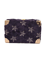 Women Bags All Seasons Special Material Shoulder Bag Buttons for Casual White Black Purple