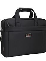 Unisex Bags All Seasons Oxford Cloth Briefcase Rivet for Casual Office & Career Black