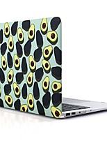Недорогие -MacBook Кейс для MacBook Air, 13 дюймов MacBook Air, 11 дюймов MacBook Pro, 13 дюймов с дисплеем Retina Фрукты Термопластик материал