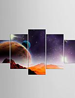 Stampe a tela Astratto,Cinque Pannelli Tela ogni Forma Stampa Decorazioni da parete For Decorazioni per la casa