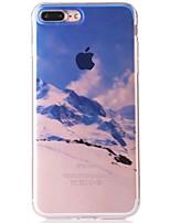 Недорогие -Кейс для Назначение Apple iPhone 7 IMD С узором Кейс на заднюю панель Пейзаж Мягкий ТПУ для iPhone 7 Plus iPhone 7 iPhone 6s Plus iPhone