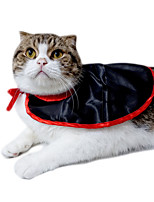 Cat Costume Dog Clothes Halloween Solid Black