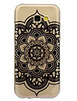 For Case Cover IMD Transparent Pattern Back Cover Case Mandala Soft TPU for Samsung Galaxy A3(2017) A5(2017) A5(2016) A3(2016)