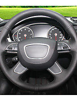 Automotive Steering Wheel Covers(Leather)For Audi 2013 A4L