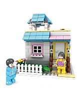 Building Blocks Toys House Pieces Not Specified Gift