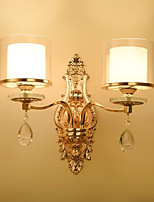 AC220 40 E14 Crystal Traditional/Classic Electroplate Feature for Crystal,Ambient Light Wall Sconces Wall Light