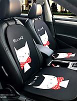 miss kitty cartoon sedile auto sedile cuscino sede sedile quattro stagioni generalmente circondato da un poggiatesta da 5 posti con due