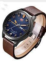 Men's Sport Watch Fashion Watch Wrist watch Unique Creative Watch Casual Watch Chinese Quartz Water Resistant / Water Proof Leather Band