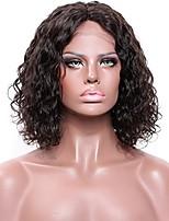 Donna Parrucche di capelli umani con retina Brasiliano Remy Lace frontale Senza colla e con tulle frontale 150% 180% Densità Con ciuffetti