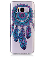 For Case Cover IMD Transparent Pattern Back Cover Case Dream Catcher Soft TPU for Samsung Galaxy S8 Plus S8 S7 edge S7 S6 edge S6 S5