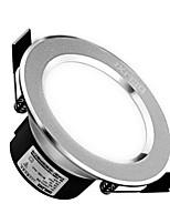 1Pc 3W Led Downlight Celing Light Warm White/White AC220V 3000/6000K Size Hole 90mm Beam Angle 120 160LM