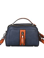 Women Bags All Seasons PU Shoulder Bag for Event/Party Casual Formal Office & Career Outdoor Blue Black Red Brown
