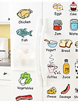 Food/Beverage Wall Stickers Plane Wall Stickers Decorative Wall Stickers,Plastic Material Home Decoration Wall Decal
