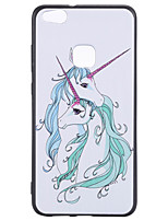 For Huawei P10 Lite P8 Lite (2017) Phone Case TPU Material Unicorn Pattern Phone Case P10 Honor 6X Enjoy 6s
