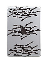 billige -Til iPad (2017) iPad 10.5 iPad Pro 12.9 '' Etuier Transparent Mønster Bagcover Etui Halloween Blødt TPU for Apple IPad pro 10.5 iPad