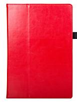 business case pour lenovo tab4 10 plus flip cover pour lenovo tab 4 10 plus tb-x704n tb-x704f tablette avec emplacements pour cartes