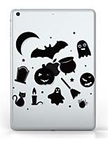 preiswerte -Für iPad (2017) Hüllen Cover Transparent Muster Rückseitenabdeckung Hülle Durchsichtig Halloween Weich TPU für Apple IPad pro 10.5 iPad