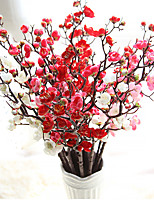 Artificial Plum Blossom Floral Arrangement Cherry Blossoms 10 Branch