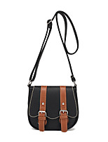 Women Bags All Seasons PU Shoulder Bag Buttons for Casual Office & Career Blue Black Red Beige Khaki