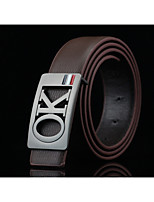 Men's Alloy Waist Belt,Solid Print Fashion