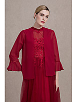 Women's Wrap Coats/Jackets Sequin Chiffon Wedding Party/ Evening Sequins