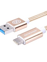 USB 3.0 Cable, USB 3.0 to USB 3.0 Tipo C Cable Macho - Macho 1,0 m (3 pies) 5.0 Gbps