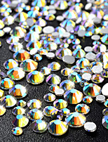 720 Nail Art Decoration Rhinestone Pearls Makeup Cosmetic Nail Art Design