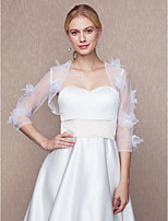 Women's Wrap Shrugs Tulle Wedding Party/ Evening Flower(s)