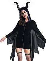 Bat Vampire Cosplay Costumes Adults' Halloween Festival/Holiday Halloween Costumes Fashion Vintage