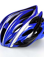 West biking Homens Mulheres Moto Capacete 20 Aberturas Ciclismo Ciclismo Alpinismo L: 59-63 cm ESP+PC