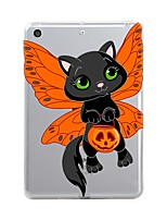 economico -Per iPad (2017) Custodie cover Transparente Fantasia/disegno Custodia posteriore Custodia Halloween Morbido TPU per Apple iPad (2017)