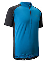 Cycling Jersey Men's Short Sleeves Bike T-shirt Shirt Sweatshirt Jersey Reflective Strip Anti-Slip Quick Dry Stretchy Sweat-Wicking