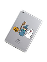 cheap -For iPad (2017) iPad 10.5 iPad Pro 12.9'' Case Cover Transparent Pattern Back Cover Case Halloween Soft TPU for Apple iPad pro 10.5 iPad